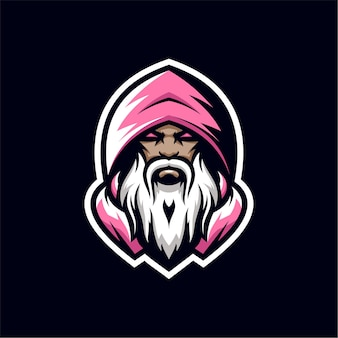 Logo mascotte guidata