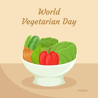 Wold concetto vegetariano