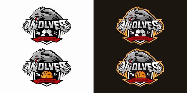 Logo design lupo e-sports