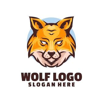 Logo della testa di lupo