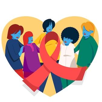 Giornata di sensibilizzazione contro il cancro al seno della donna