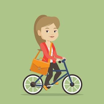 Bicicletta da donna.