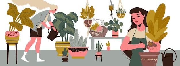 Giardinaggio femminile