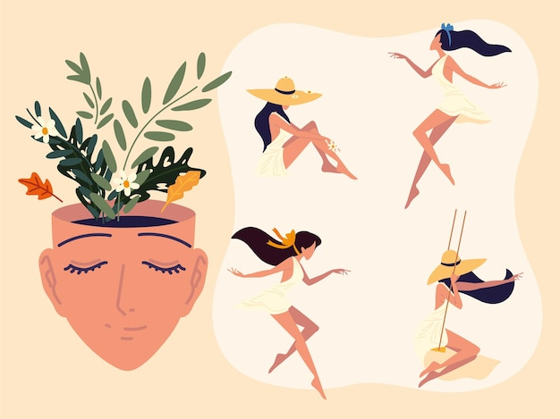 Donne serene e benessere