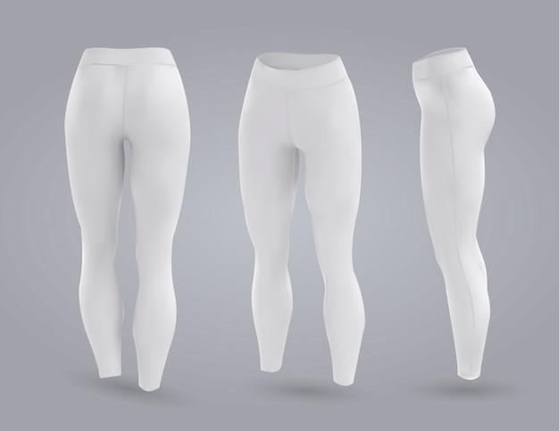 Leggings da donna mockup.