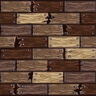 Modello di piastrelle per pavimenti in legno marrone scuro. bordo di parquet in legno senza cuciture.