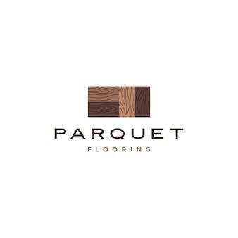 Logo di parquet in legno