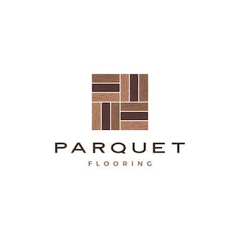 Parquet in legno, logo in piastrelle di granito in legno di vinile