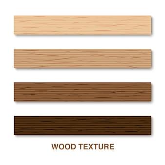 Struttura di legno isolata su fondo bianco