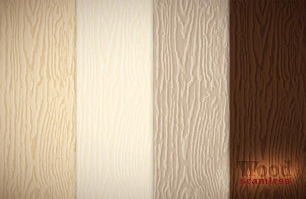 Insieme di struttura di legno. modelli senza cuciture in legno. sfondo in legno d'epoca.