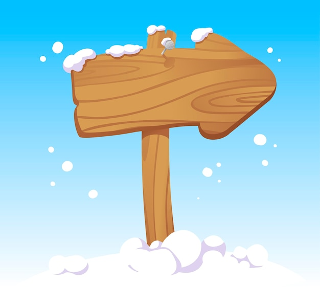 Puntatore di bordo di natale in legno