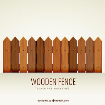 Staccionata di legno