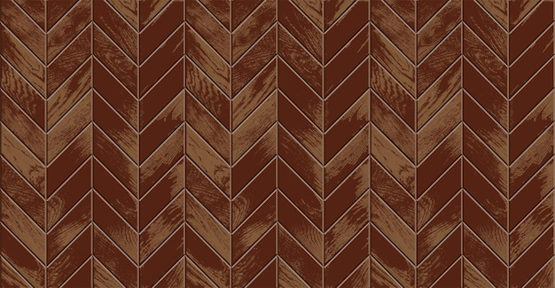 Pavimento in legno, parquet vintage realistico