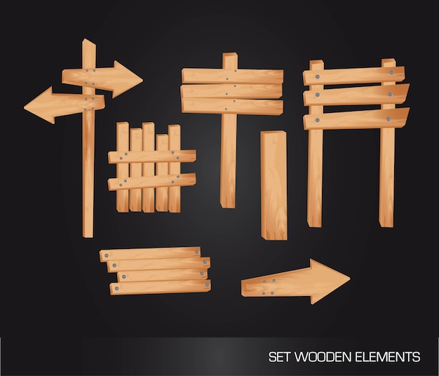 Indicazione di legno