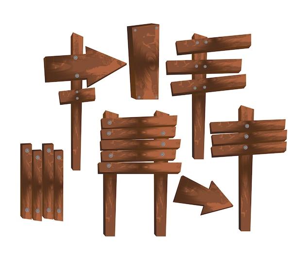 Vettore di legno