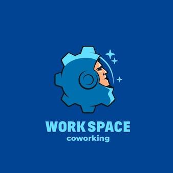 Coworking dello spazio di lavoro