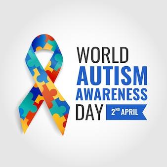 Giornata mondiale di sensibilizzazione sull'autismo.