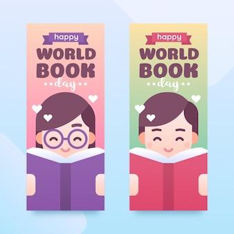 Banner giornata mondiale del libro