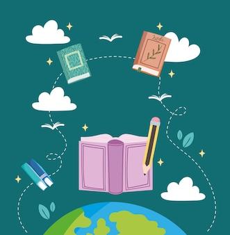 Educazione mondiale sui libri