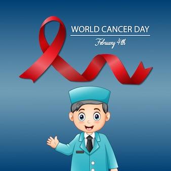 Giornata mondiale del cancro, 4 febbraio, design mondiale del cancro