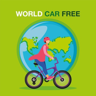 Carta mondiale senza auto