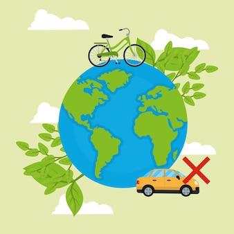 Celebrazione mondiale senza auto