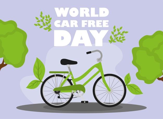 Giornata mondiale senza auto con la bicicletta