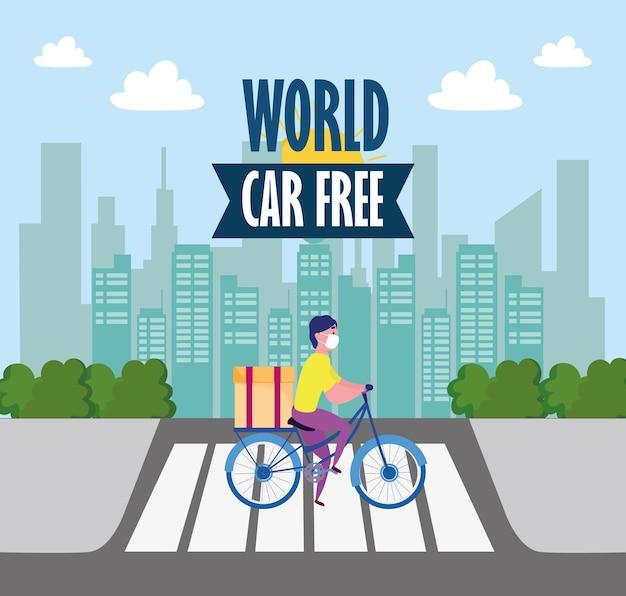 Servizio di consegna senza auto in tutto il mondo