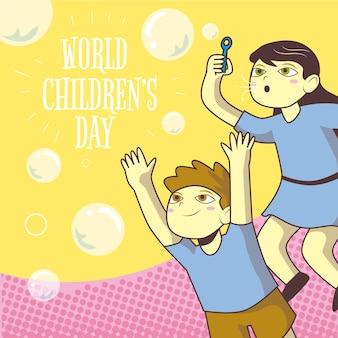 Celebrazione della giornata mondiale dei bambini