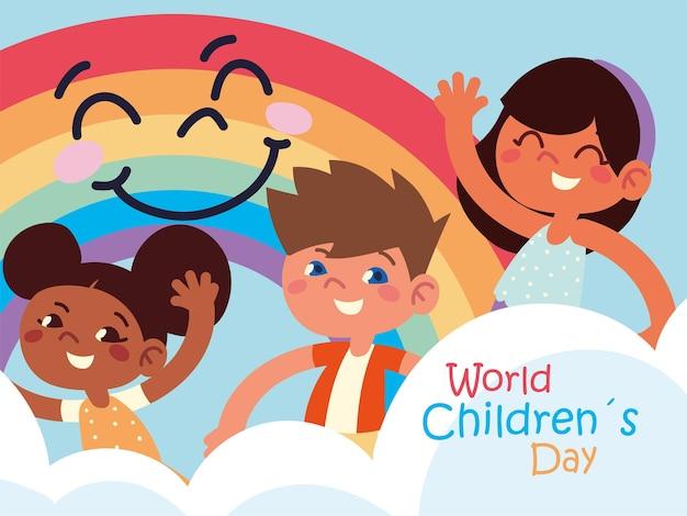 Manifesto della giornata mondiale dei bambini