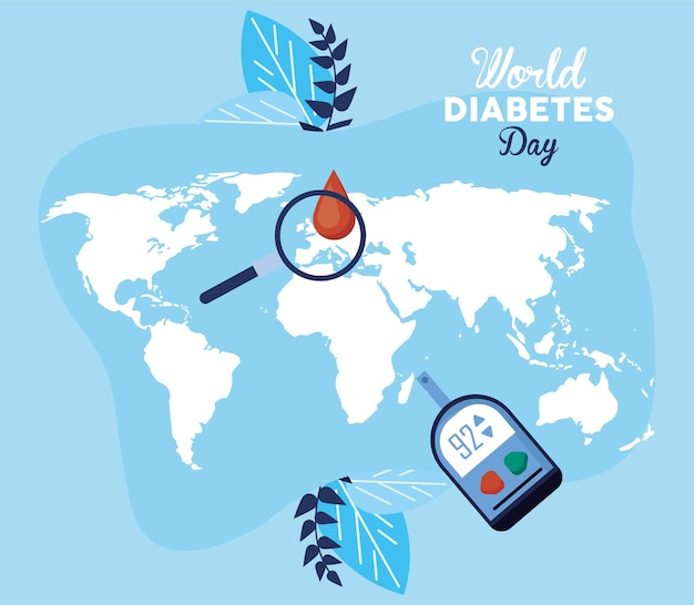 Giornata mondiale del diabete pianeta