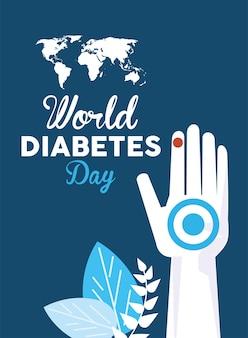 Manifesto della giornata mondiale del diabete