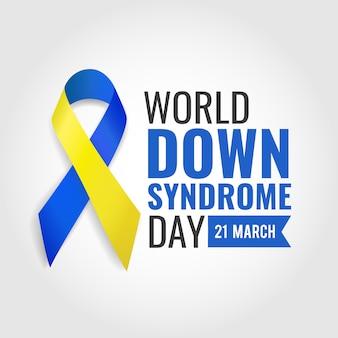 Illustrazione di giornata mondiale della sindrome di down