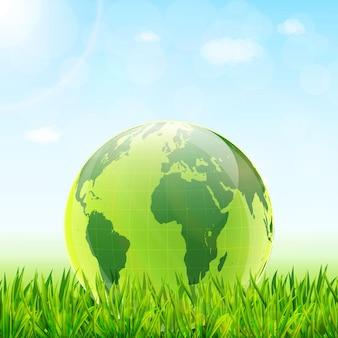 Fondo di concetto di giornata mondiale dell'ambiente