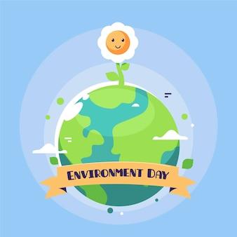 Design per la giornata mondiale dell'ambiente