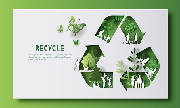 Giornata mondiale dell'ambiente molte persone che svolgono attività si godono la vita in una buona atmosfera