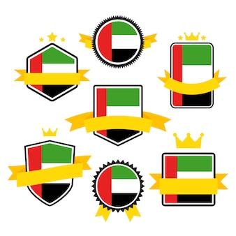 Serie di bandiere del mondo, bandiera degli emirati arabi uniti