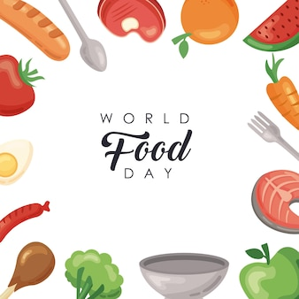 Cornice della giornata mondiale dell'alimentazione