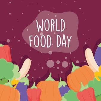 Messaggio per la giornata mondiale dell'alimentazione