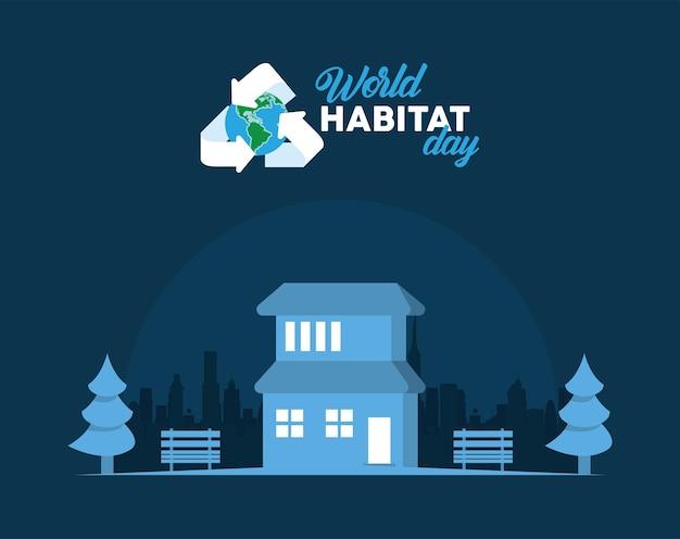 Campagna per la giornata mondiale dell'habitat