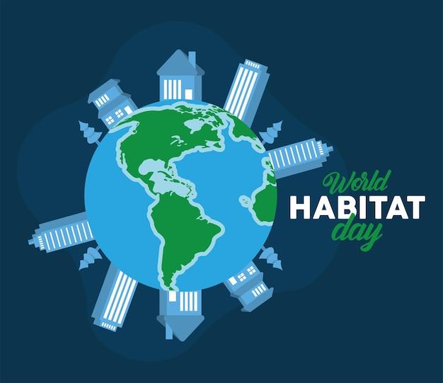 Messaggio per la giornata mondiale dell'habitat