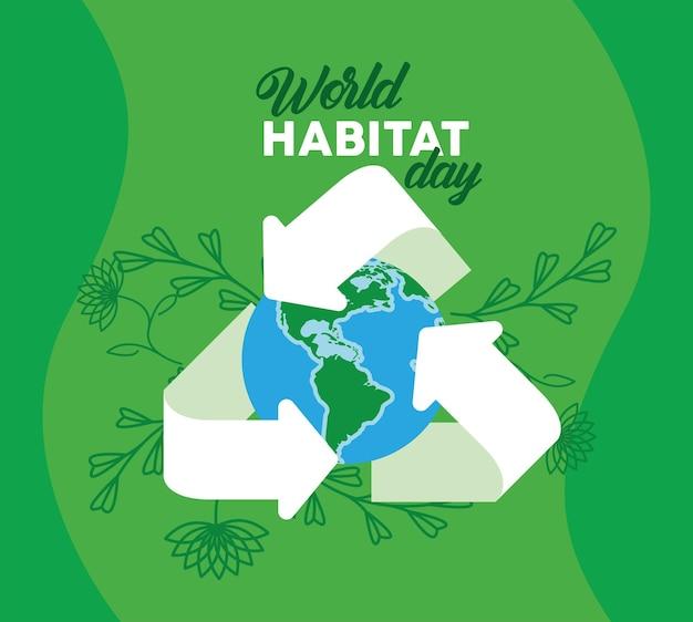 Manifesto della giornata mondiale dell'habitat