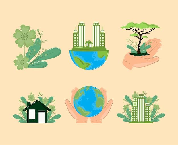 Ecosistema dell'habitat mondiale