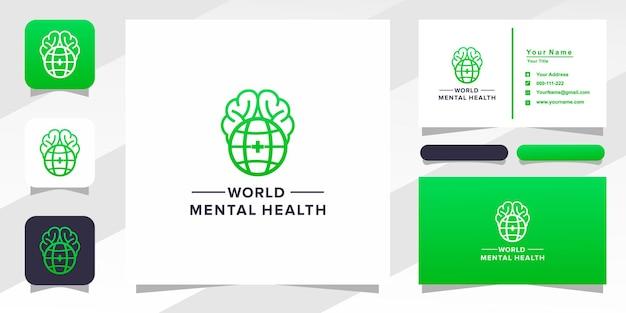 Logo mondiale della salute mentale
