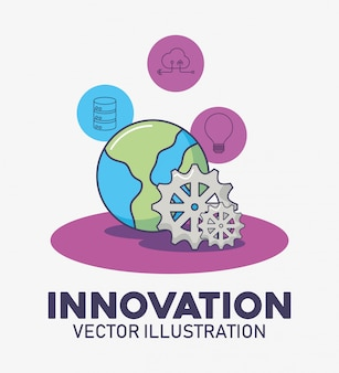 Innovazione tecnologica del pianeta e dell'attrezzatura