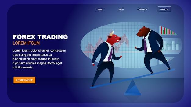World stock market forex trading denaro globale