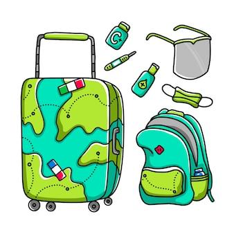 Giornata mondiale del turismo nuovo set normale