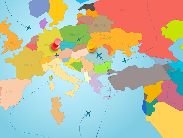 Concetto di viaggio nel mondo