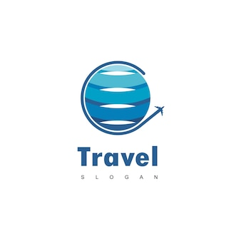 Logo di viaggio nel mondo