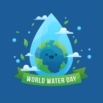 Evento della giornata mondiale dell'acqua